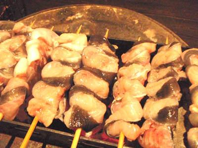 うなぎBBQ料理、くりから焼き