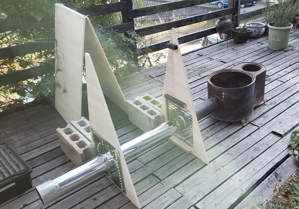薪ストーブ煙突の断熱材、コンセプト