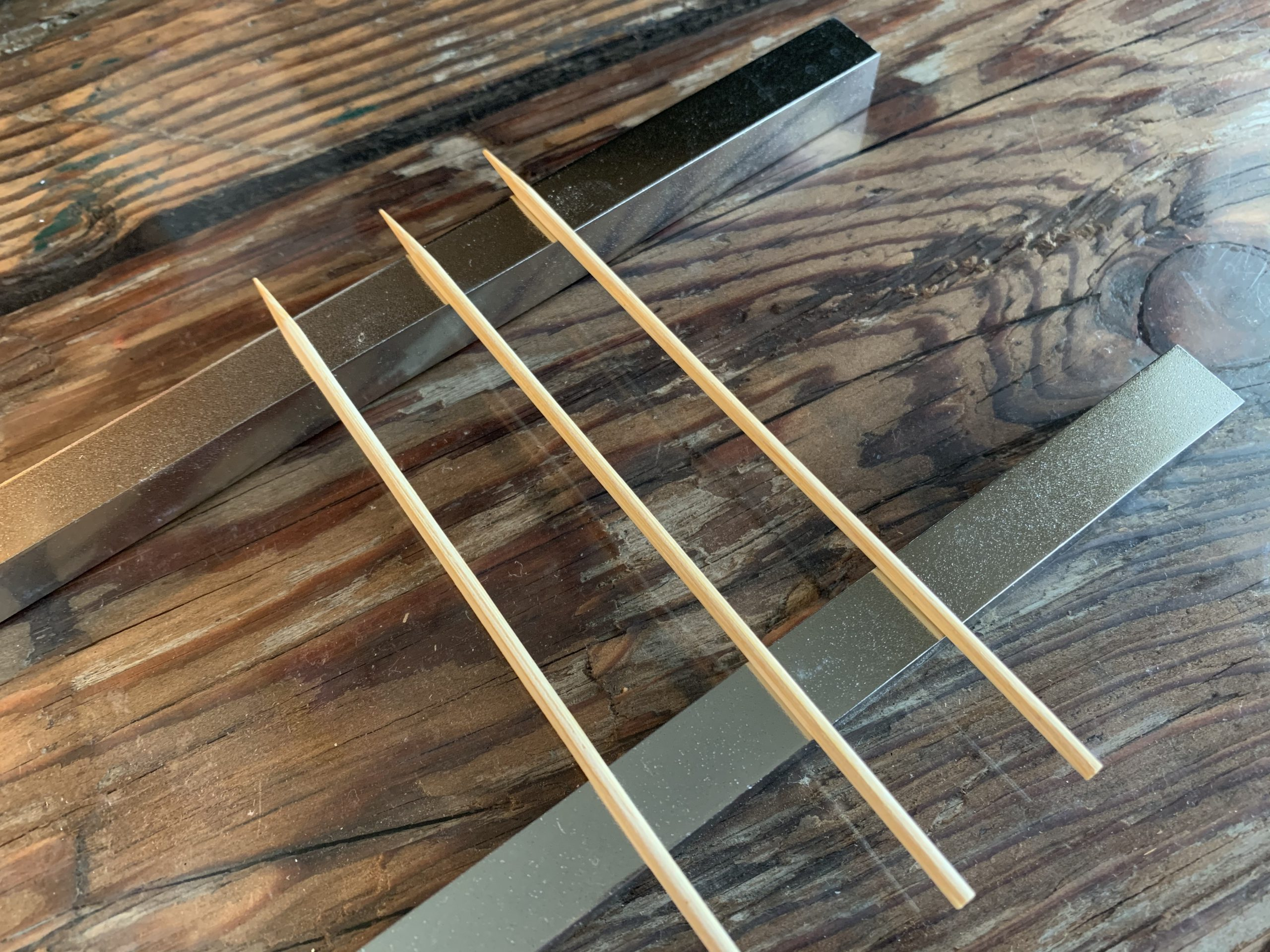 七輪用鉄棒と金串