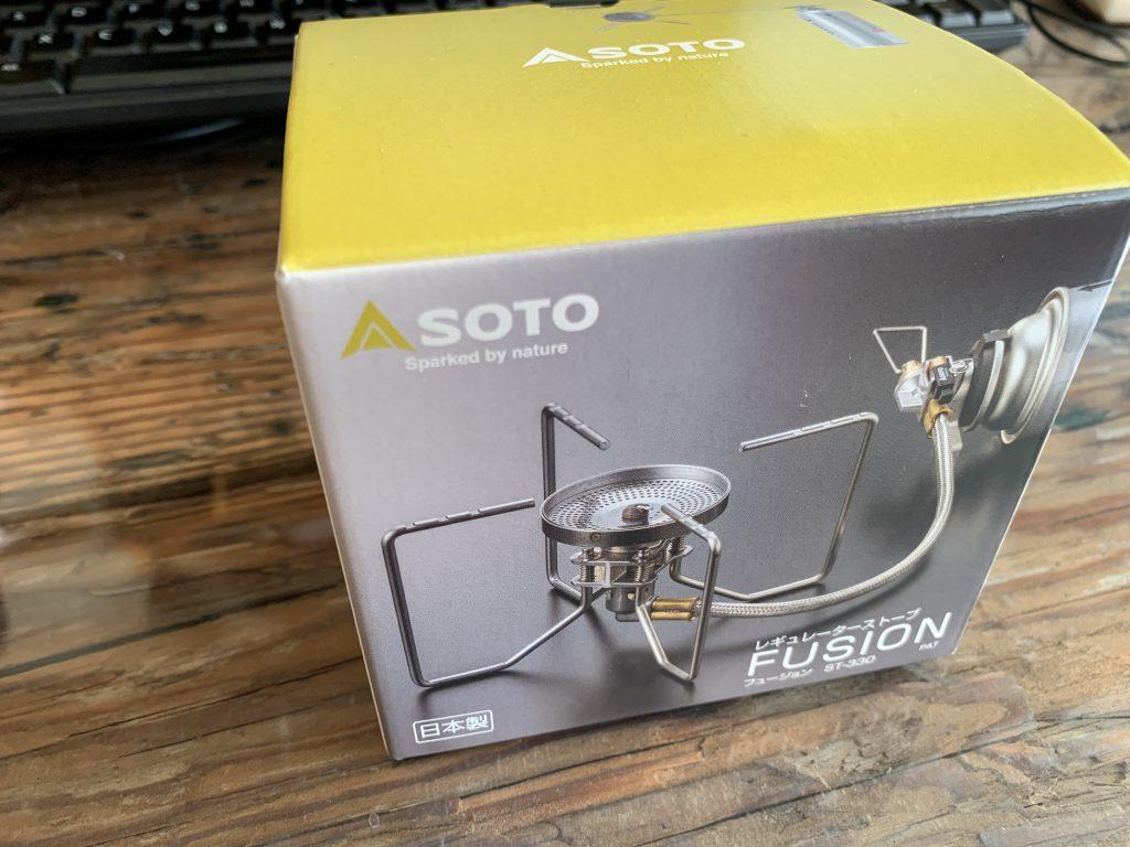 SOTO FUSION ST-330 レギュレーターストーブ
